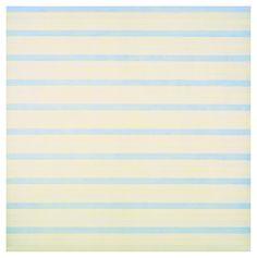 """Agnes Martin """"Untitled (White Flowet)"""" 1998"""