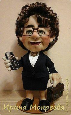 Хочу представить на суд жителей страны свою новую куклу- солидную даму руководителя. фото 1