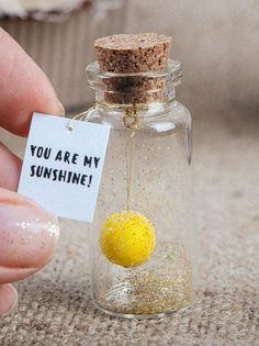Looking for personalized gift for girlfriend or boyfriends gift? This message in a bottle - You are my sunshine is what you need! It will be cute gift and will give happy and smile to loved one. Also, message in a bottle will be wonderful alternative to a traditional greeting card and #boyfriendgift