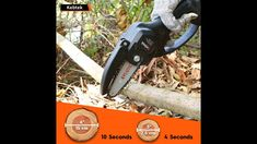 How do you use a mini electric chainsaw? Electric Chainsaw, Garden Tools, Mini, Instagram, Yard Tools