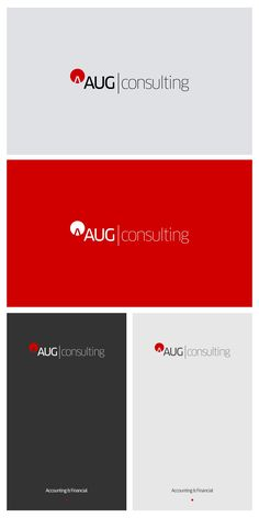 Design #291 by Mircea Rista | Modern & Stylish Logo for aug consulting