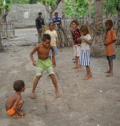 East Timor hopscotch