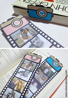 Find images and videos about diy, gift and separador on We Heart It - the app to get lost in what you love. Cute Crafts, Diy And Crafts, Paper Crafts, Deco Theme Cinema, Diy Birthday, Birthday Cards, Ideias Diy, Diy Cards, Boyfriend Gifts