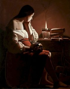 The Magdalene with the Smoking Flame Georges de La Tour — 1638-1640
