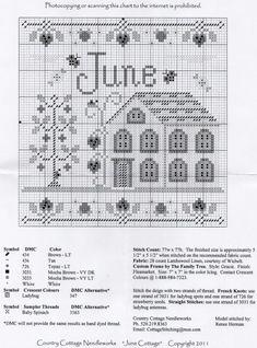 Cross Stitch House, Cross Stitch Tree, Cross Stitch Books, Just Cross Stitch, Cross Stitch Samplers, Counted Cross Stitch Patterns, Cross Stitch Charts, Cross Stitch Designs, Cross Stitching