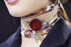 Discover in detail the accessories from the spring-summer 2016 ready-to-wear collection by Raf Simons for Christian Dior. Dior Jewelry, Jewelery, Jewelry Accessories, Fashion Accessories, Fashion Jewelry, Jewelry Design, Summer Accessories, Christian Dior, Tomboy Chic