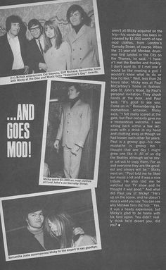 TV Picture Life - June, 1967 - Micky Dolenz, Samantha Juste, Cliff Richard, Cat Stevens