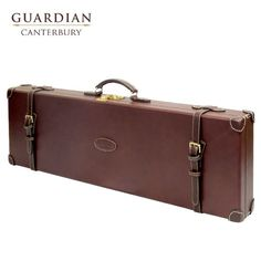 Guardian Leather dukes case Combining premium grade chestnut leathers and traditional designs the Guardian Leather Shotgun Case collection has been
