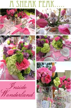 Gorgeous Tea Party Tables
