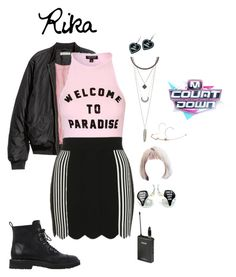 """""""Move On  [Comeback Stage] M! Countdown"""" by starz-official ❤ liked on Polyvore featuring Topshop, Charlotte Russe, Witch Worldwide and Giuseppe Zanotti"""