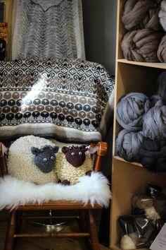 very nice blog on fair isle knitting