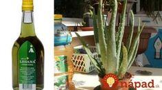 To je nápad! Beauty Detox, Medicinal Herbs, Kuroko, Aloe Vera, Life Is Good, Projects To Try, Wine, Bottle, Health