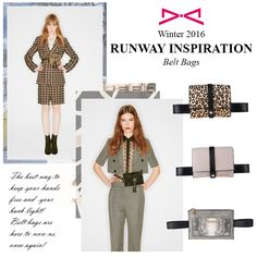 Belt bags are bringing the back in a very sexy way! Belt Bags, Fall Winter 2015, Bring It On, Sexy, Inspiration, Fashion, Biblical Inspiration, Moda, Fashion Styles