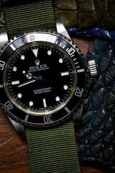 Rolex Submariner Black Dial Stainless Steel Case