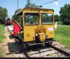 B&O 166295, MOW Speeder