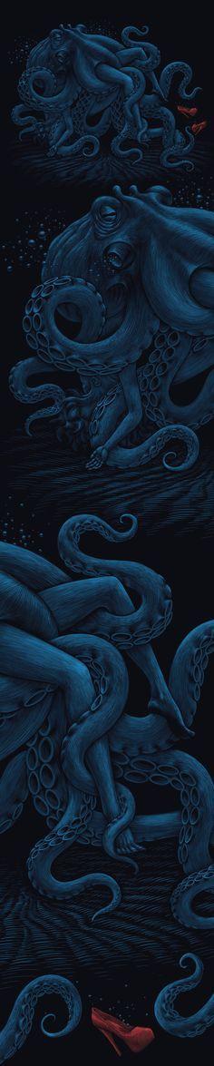 Night hugs in labuten on Behance Sea Creatures, Under The Sea, Science Nature, Color Trends, City Photo, Hugs, Behance, Night, Lovers