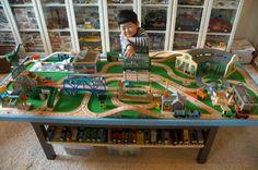 Kids.Woot: The Community: Kid Woots: Thomas & Friends Wooden Railway Repair & Go Sodor Steamworks Set