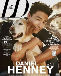 """With the love of my life ...""""Life and Dogue magazine"""" Sept 2016. Such an…."""