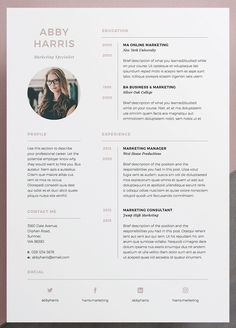 Professional Resume/CV and cover letter template. A professional two page design. - Professional Resume/CV and cover letter template. A professional two page design with striking cover - Cv Website, Website Design, Website Layout, Cover Letter Template, Letter Templates, Free Cv Template Word, Resume Design Template, Resume Templates, Icones Cv