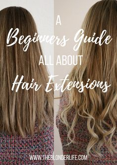 The most shocking hair extension before and after ever hair the beginners guide to hair extensions gal palgirl gangdream pmusecretfo Gallery