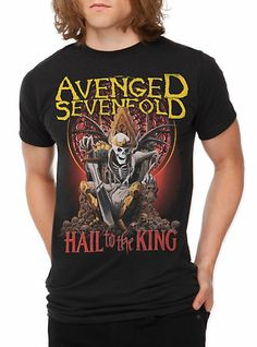 Avenged Sevenfold Hail To The King T-Shirt | Hot Topic.....oh gosh I want that shirt :D