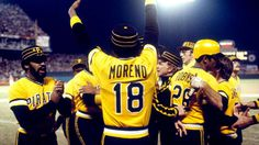 A look back at World Series Game 7 history - 1979 Pittsburgh Pirates vs Baltimore Orioles. We Are Family Pittsburgh Sports, Pittsburgh Pirates, 1979 World Series, Game 7, Sport Icon, We Are Family, Baltimore Orioles, Popular Music, Popular Culture