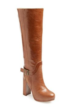 Jeffrey+Campbell+'Tenor'+Knee+High+Leather+Boot+(Women)+available+at+#Nordstrom