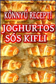 Savoury Baking, Bread Baking, Easy Cooking, Cooking Recipes, Croissant Bread, Hungarian Recipes, Small Cake, Cakes And More, Hot Dog Buns