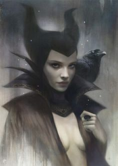 Maleficent by Tom Bagshaw
