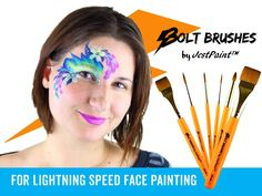 Watch Anna demo our new line of brushes, Bolt Brushes, by JestPaint. You can learn more about these great brushes by visiting our store…