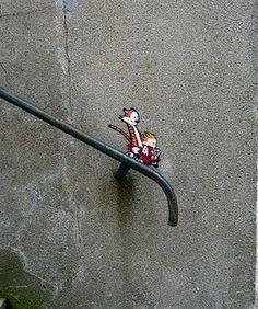 Calvin & Hobbes art