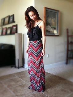 Maxi skirts are a must for Spring/Summer