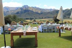 Stunning Wedding Function outside@ THe Lookout Lodge