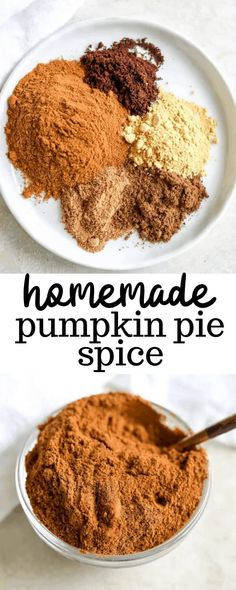 This homemade pumpkin pie spice recipe is the perfect DIY how to make recipe for all different uses like in oatmeal, coffee, and fall flavored baked goods. Holiday baking is much better with a homemade spice mix!