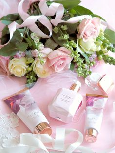 Special Gift Ideas For Mother's Day, Gift Guide, Ted Baker Blush Bouquet Gift Set Ted Baker Gifts, Good Morning Ladies, Blush Bouquet, Pink Photo, Felt Hearts, Soft Colors, Girly Things, Special Gifts, Mother Day Gifts