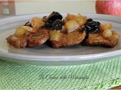 Ricetta Portata principale : Arista di maiale con mele e prugne da Lacucinadellemeraviglie