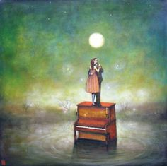 Duy Huynh paintings: magical... they all pull on my heart strings.