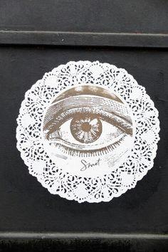 Paris 20 - rue sorbier - street art - smot