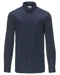 Mega cool Selected langærmet skjorte Selected Skjorter til Herrer i behageligt materiale