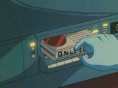 Visual Style Electronic Devices in Anime Movies Aesthetic Gif, Retro Aesthetic, Aesthetic Wallpapers, Old Anime, Anime Manga, Anime Art, Cyberpunk Anime, Japanese Animated Movies, Anime Gifs