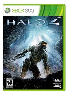 Halo 4 - Microsoft Xbox Halo 4 Xbox 360The Master Chief returns to battle an ancient evil bent on vengeance and annihilation. Shipwrecked on a mysterious world, faced with new enemies and deadly technology, th... - Shooter - PC & Video Games class=