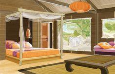 safari lodge in the loire valley's la fleche zoo - enjoy tigers frolic at the…