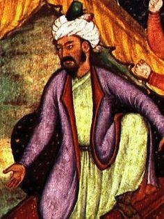 Babur ou Babar, Imperador, guerreiro, aventureiro, poeta e amante da natureza nascido no principado de Fergana, região hoje pertencente ao Usbequistão, fundador do império mongol da Índia. Descendente de Gengis Khan por parte de mãe