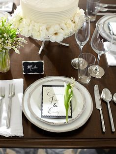 Our Caroline dishes in silver a beautiful for a classic look. #potterybarn