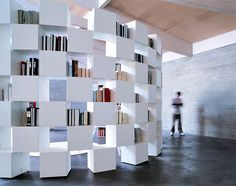 Get Inpired : 10 Beautiful Custom Wall Bookcases