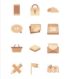 Free 12 Flat Icon, #EPS, #Flat, #Free, #Graphic #Design, #Icon, #Resource, #Vector