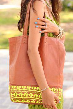 Cool Rebecca Minkoff bag.