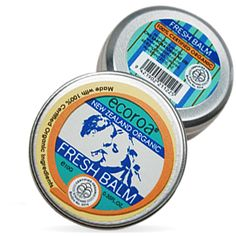 natural certified organic skin refreshing balm for baby and sensitive or delicate skins