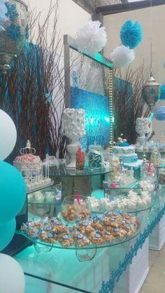 #frozen #decoración  #mesadedulces