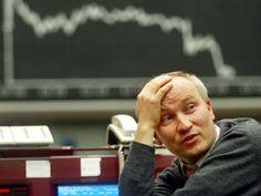 stock broker chart down market arrow loss fail bear crash panic stocks trader - Investors Europe Stock Brokers Gibraltar